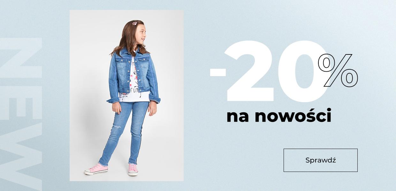 Coccodrillo: 20% rabatu na nowości z kolekcji odzieży dziecięcej                         title=