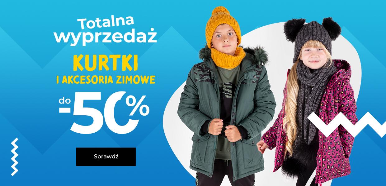 Coccodrillo: wyprzedaż do 50% rabatu na kurtki i akcesoria zimowe