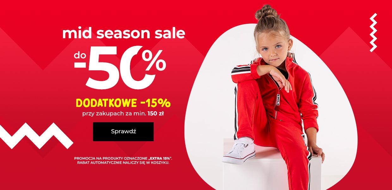 Coccodrillo: wyprzedaż międzysezonowa do 50% zniżki na odzież dziecięcą