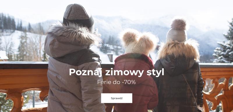 Coccodrillo: wyprzedaż do 70% rabatu na zimową odzież dziecięcą                         title=
