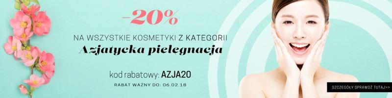 Cocolita: 20% zniżki na kosmetyki z kategorii Azjatycka Pielęgnacja                         title=