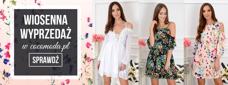 Cocomoda: wyprzedaż do 30% rabatu na stylowe ubrania damskie