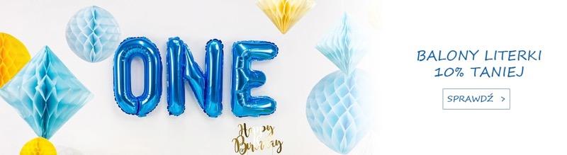 Congee: 10% zniżki na balony literki
