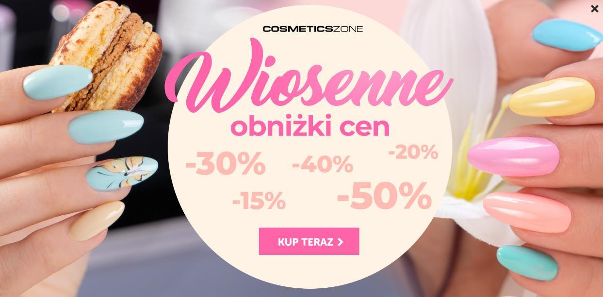 Cosmetics Zone: do 50% zniżki na lakiery hybrydowe, przedłużanie rzęs oraz akcesoria kosmetyczne