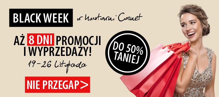 Black Week Cosnet: do 50% zniżki na kosmetyki i wyposażenie gabinetu