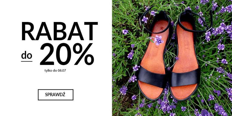 CoZaButy: 20% zniżki na buty damskie i męskie                         title=
