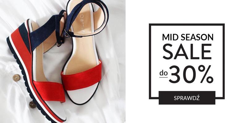 CoZaButy: wyprzedaż do 30% zniżki na buty damskie i męskie