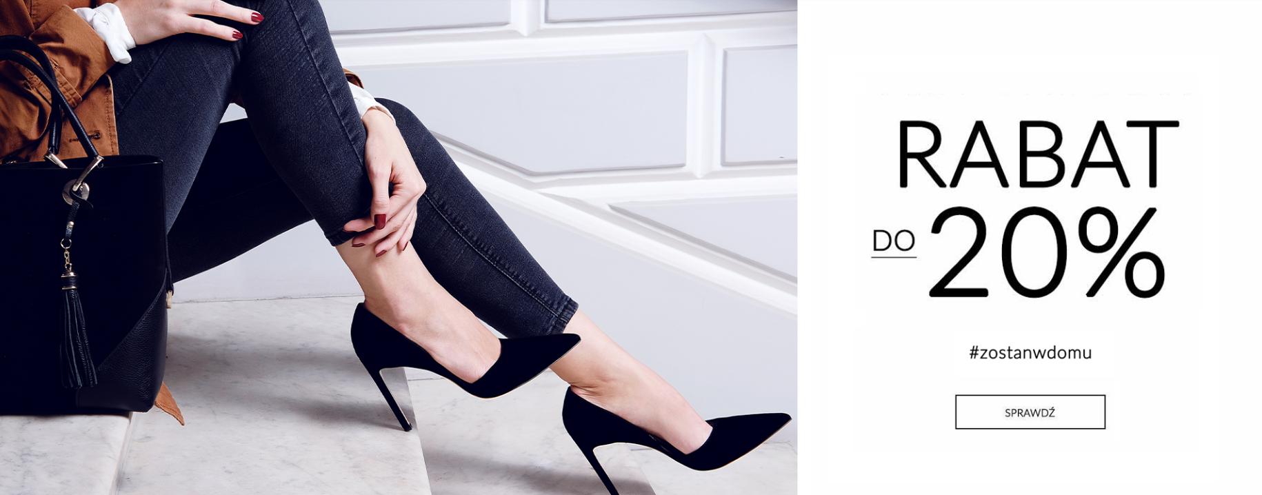 CoZaButy: do 20% zniżki na obuwie damskie i męskie
