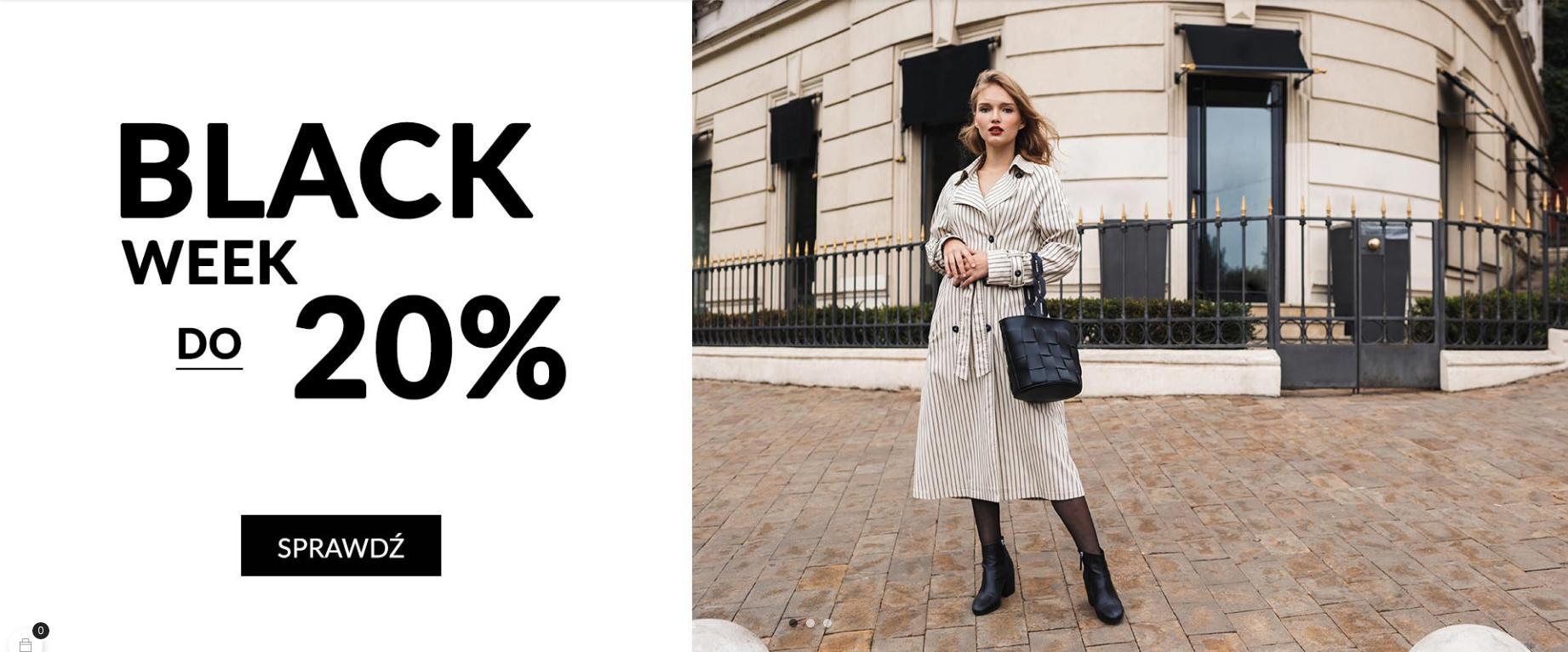CoZaButy: Black Week do 20% zniżki na buty damskie i męskie
