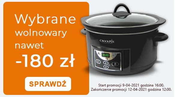 Crock-Pot Crock-Pot: nawet 180 zł rabatu na wybrane wolnowary