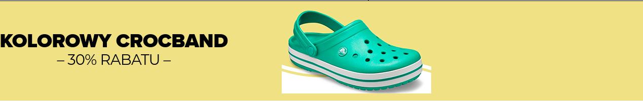Crocs: 30% zniżki na obuwie damskie, męskie i dziecięce                         title=