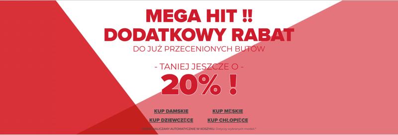 Crocs: dodatkowe 20% rabatu na już przecenione buty damskie, męskie i dziecięce                         title=