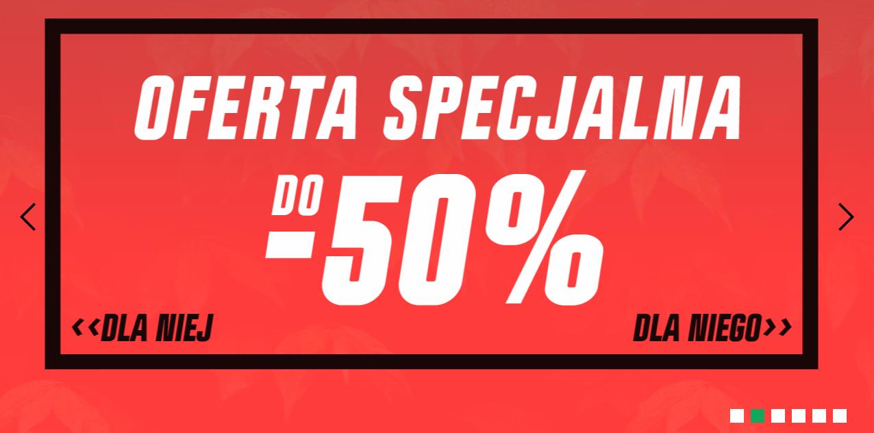 Cropp Cropp: do 50% rabatu na odzież, obuwie i akcesoria z oferty specjalnej