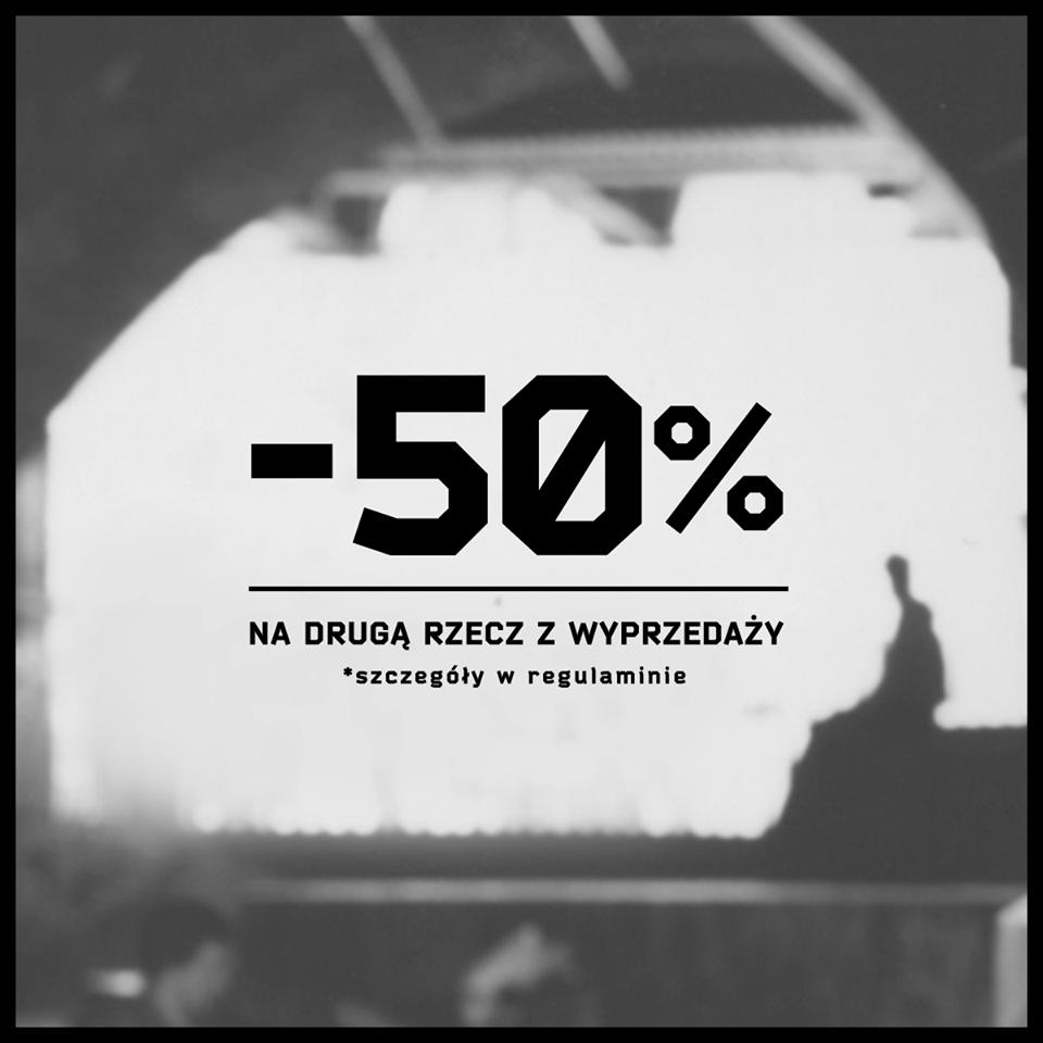 Cropp: 50% zniżki na drugą rzecz z wyprzedaży