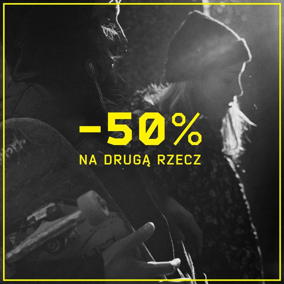 Cropp: 50% zniżki na drugą rzecz