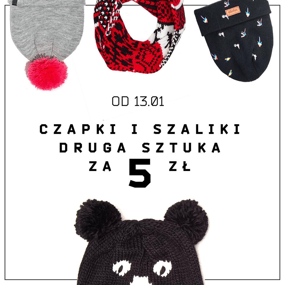 Cropp: czapki i szaliki druga sztuka za 5 zł