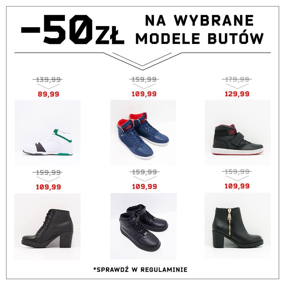 Cropp: 50 zł zniżki na wybrane modele butów