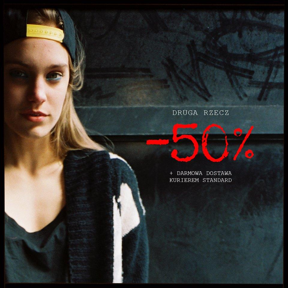 Cropp: 50% zniżki na drugąrzecz