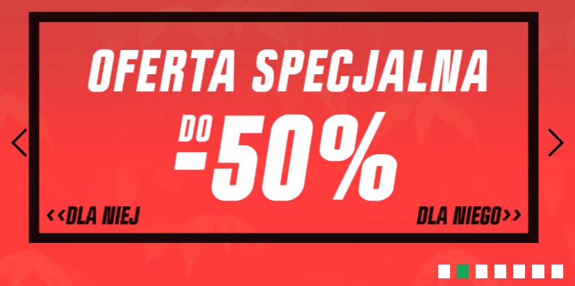 Cropp: do 50% rabatu na odzież, obuwie i akcesoria z oferty specjalnej