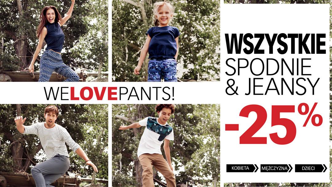Cubus: 25% zniżki na spodnie i jeansy