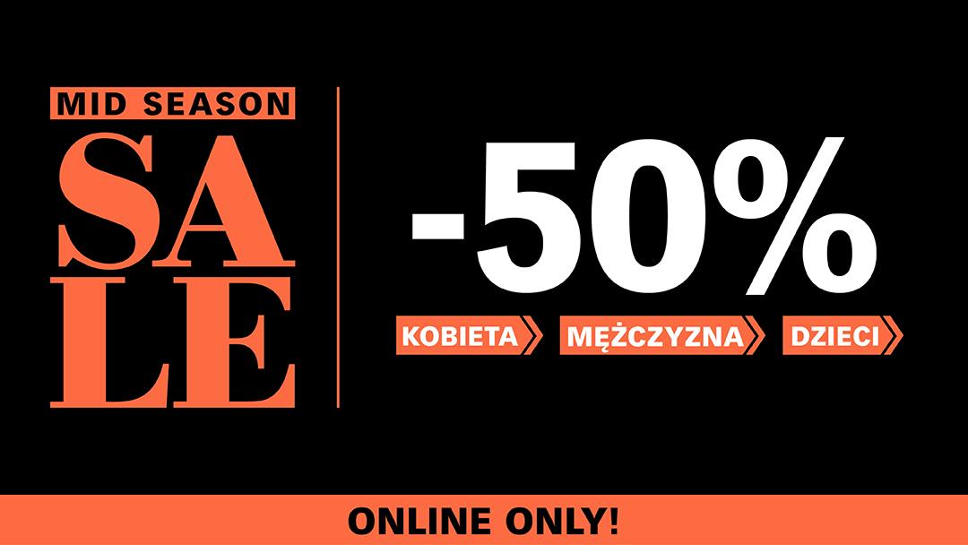 Cubus: Mid Season Sale 50% zniżki