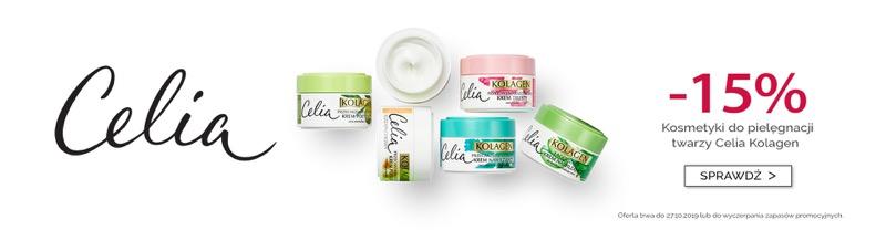 Dax Cosmetics: 15% rabatu na kosmetyki do pielęgnacji twarzy Celia Kolagen                         title=