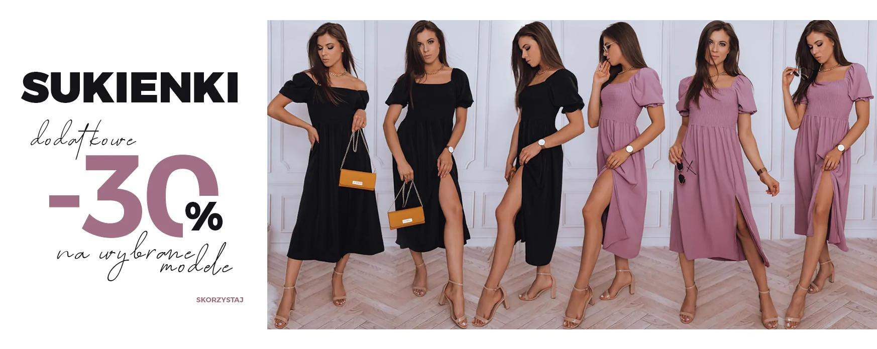 Dstreet: 30% rabatu na wybrane modele sukienek