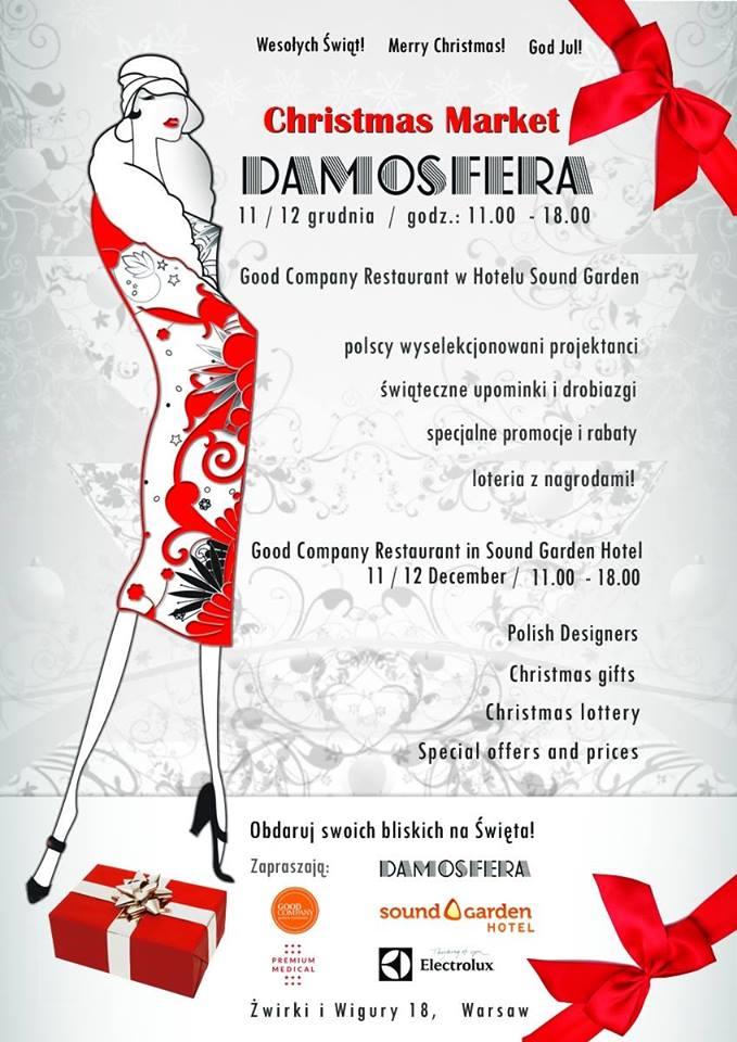 Christmas Market Damosfera 11-12 grudnia 2014