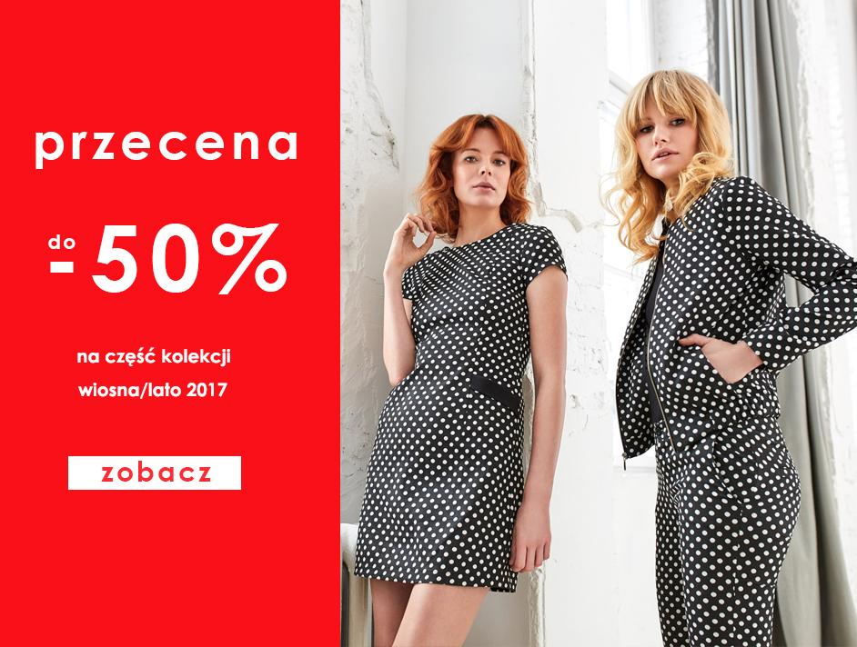 Danhen: wyprzedaż do 50% zniżki na odzież damską i sukienki z kolekcji wiosna-lato 2017                         title=