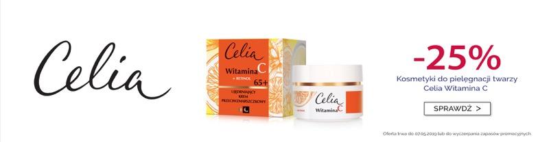 Dax Cosmetics: 25% rabatu na kosmetyki do pielęgnacji twarzy Celia Witamina C