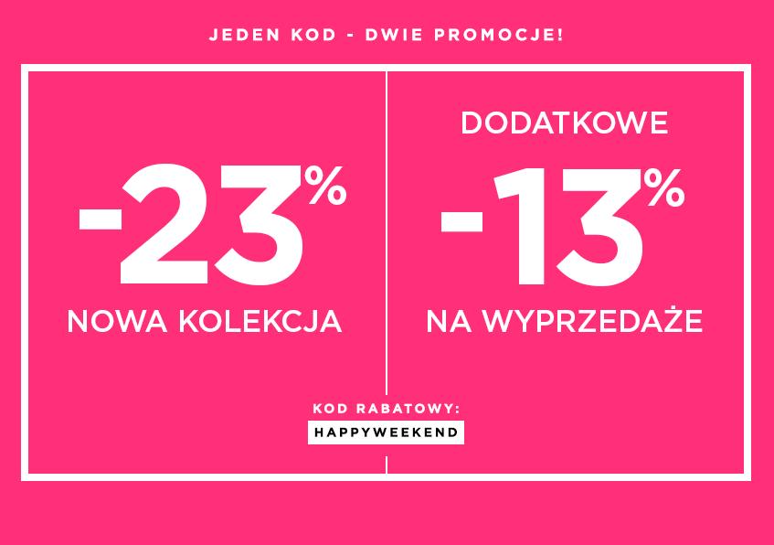 DeeZee: 23% zniżki na nową kolekcję oraz 13% na rzeczy z wyprzedaży
