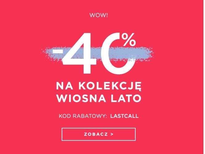 DeeZee: 40% rabatu na kolekcję wiosna-lato