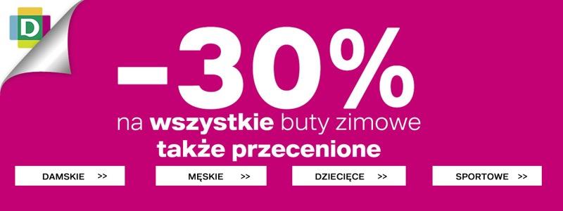 Deichmann: 30% rabatu na wszystkie buty zimowe                         title=