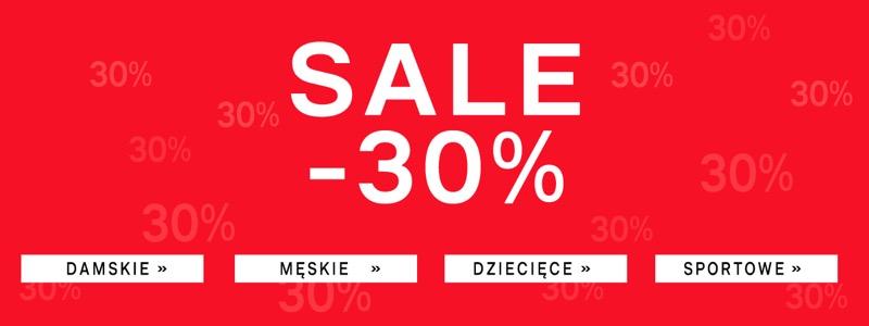 Deichmann: wyprzedaż 30% rabatu na buty damskie, męskie i dziecięce                         title=