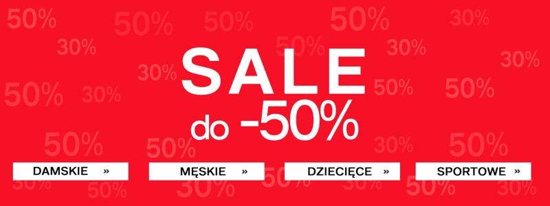 Deichmann: wyprzedaż do 50% rabatu na buty damskie, męskie i dziecięce                         title=