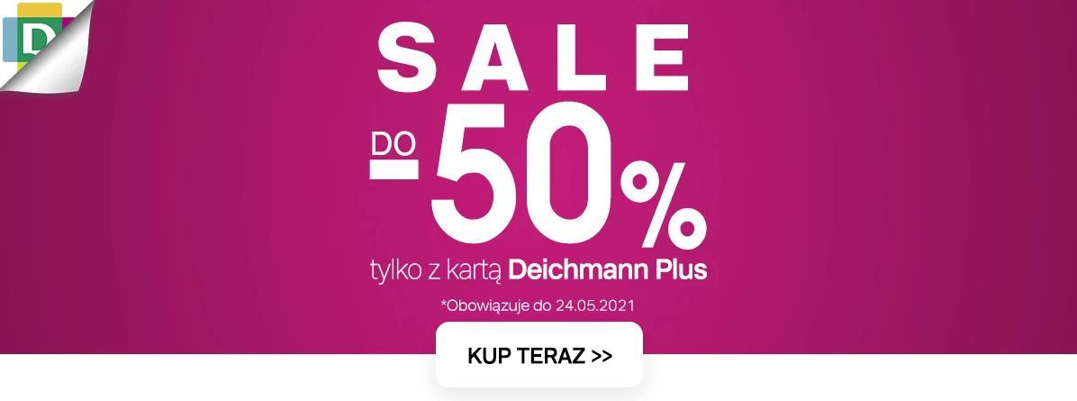 Deichmann: wyprzedaż do 50% zniżki na obuwie damskie, męskie oraz dziecięce