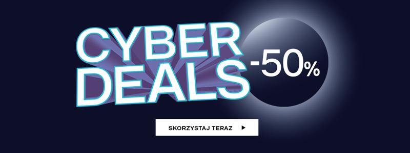 Deichmann: Cyber Deals 50% rabatu na buty damskie, męskie i dziecięce                         title=