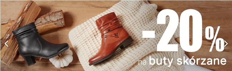 Deichmann: 20% rabatu na damskie i męskie buty skórzane