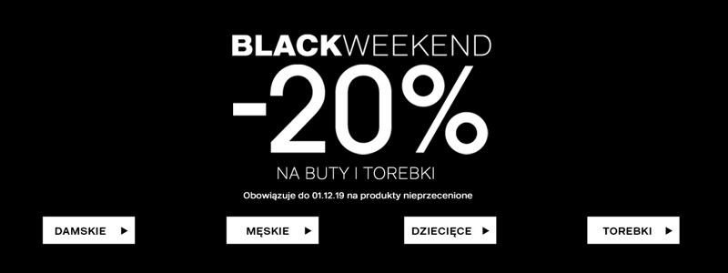 Deichmann: Black Weekend 20% zniżki na buty i torebki                         title=