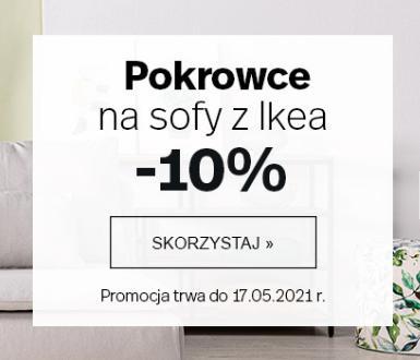 Dekoria Dekoria: 10% zniżki na pokrowce na sofy z Ikea