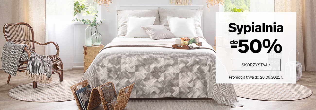 Dekoria Dekoria: do 50% rabatu na wyposażenie sypialni