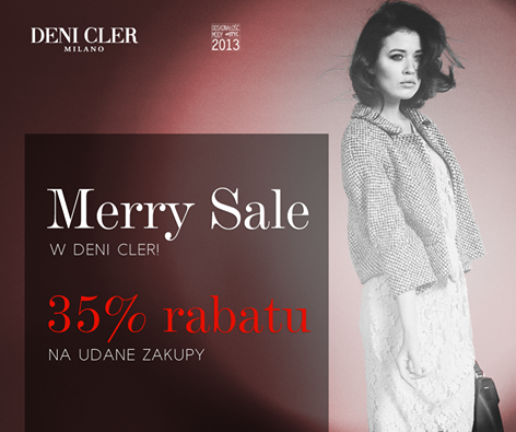 Deni Cler: Merry Sale do 35% rabatu