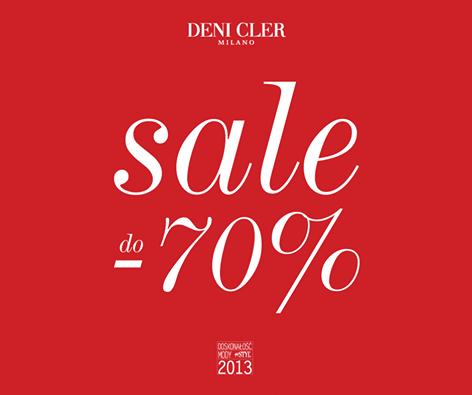 Deni Cler Milano: wyprzedaż do 70%