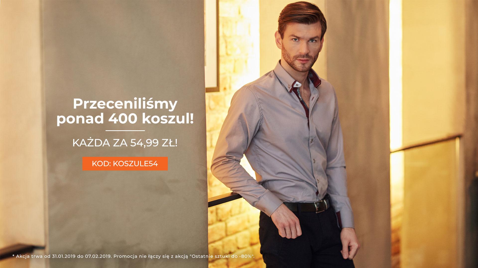 Denley: ponad 400 koszul za 54,99 zł                         title=