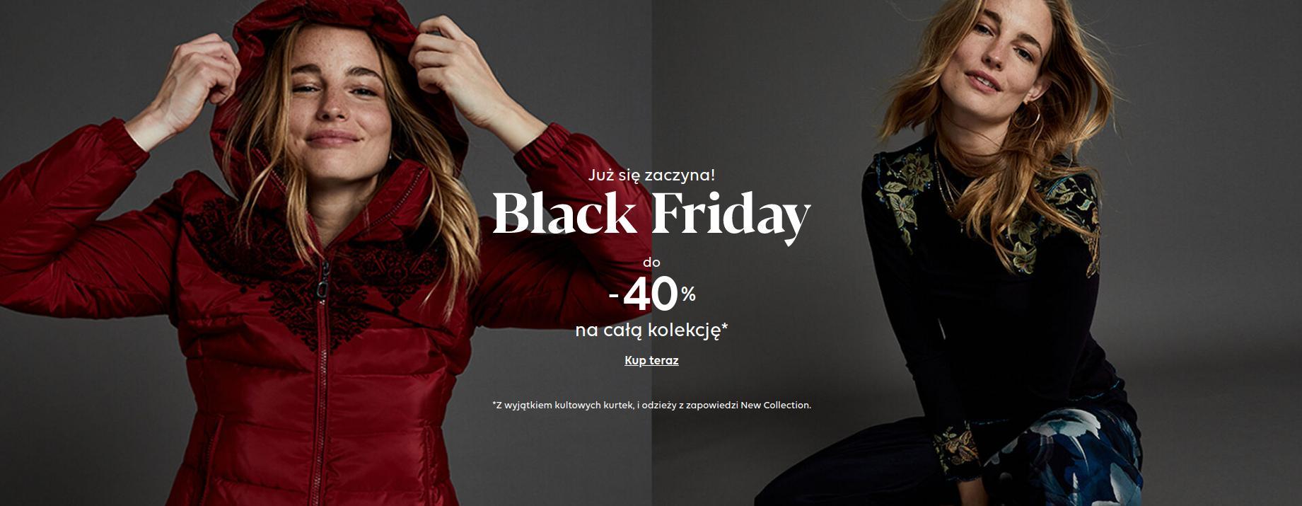 Desigual: Black Friday do 40% rabatu na całą kolekcję damską, męską i dziecięcą