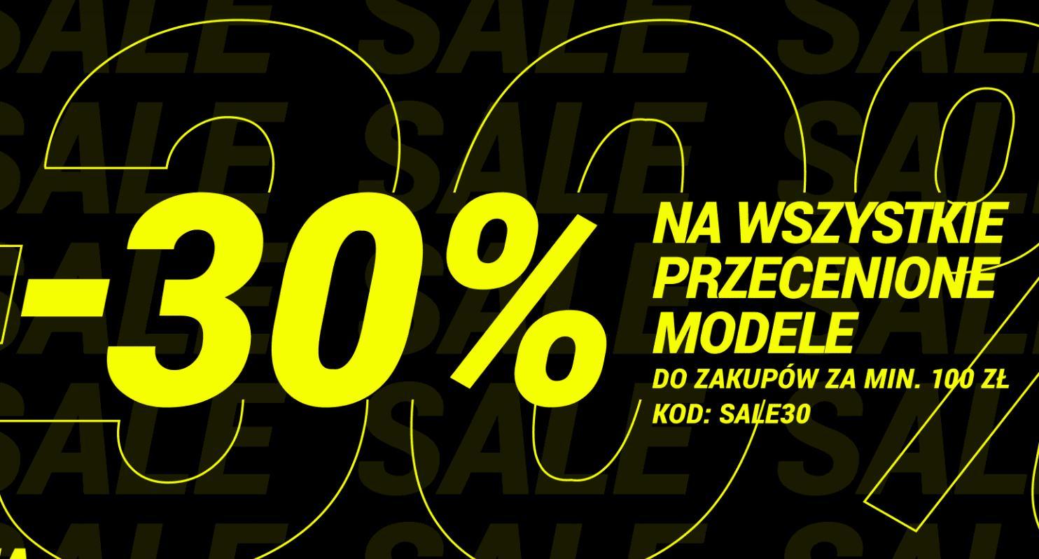 Diverse: 30% zniżki na przecenione produkty - odzież, obuwie i akcesoria przy zakupach za min. 100 zł