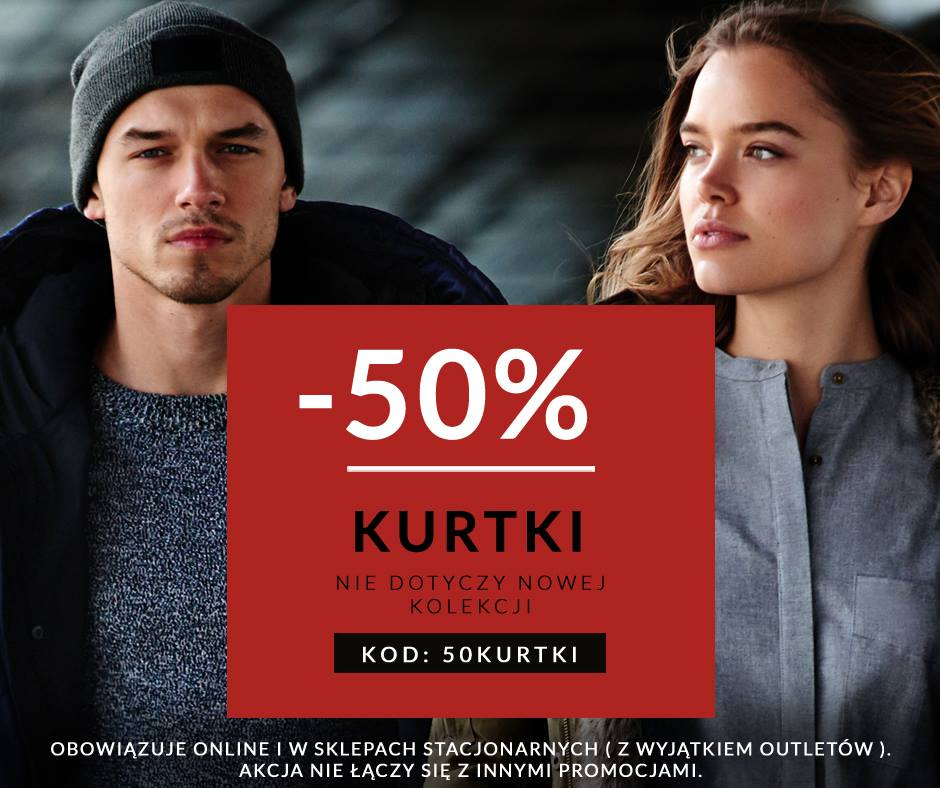 Diverse: 50% zniżki na kurtki