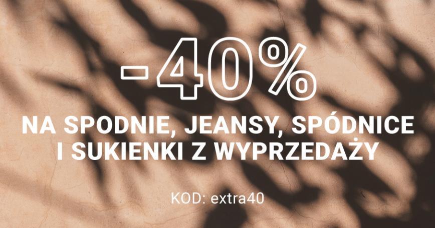 Diverse: 40% zniżki na spodnie, jeansy, spódnice i sukienki z wyprzedaży