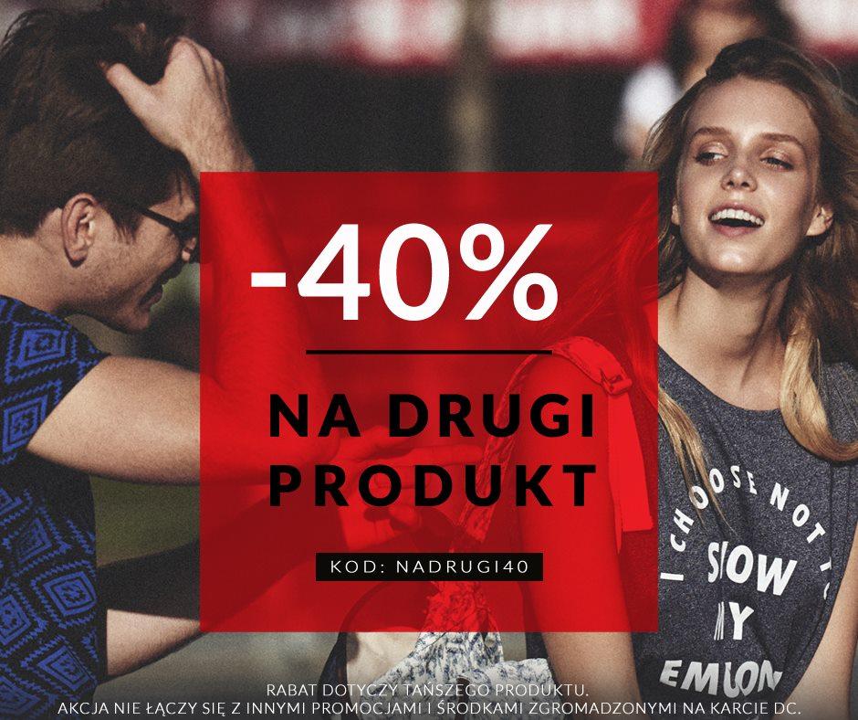 Diverse: 40% zniżki na drugi produkt