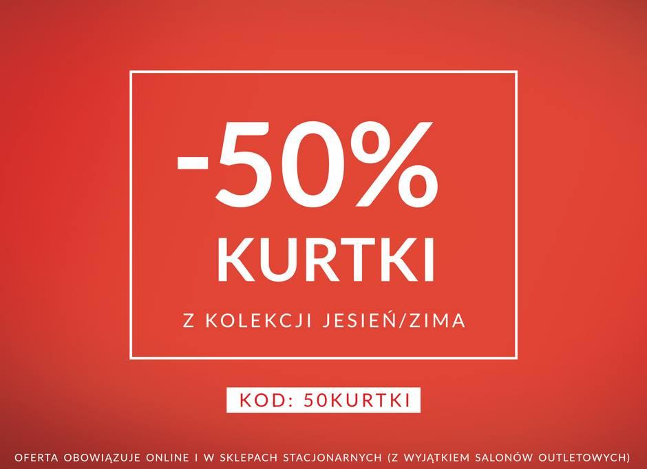 Diverse: 50% zniżki na kurtki z kolekcji jesień/zima